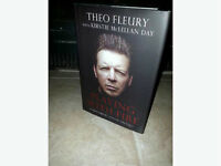 Theo Fleury autographed ­Playing with Fire