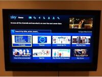 """40"""" FINLUX FULL HD FREEVIEW BUILT IN LCD TV WITH WALL BRACKET & REMOTE CONTROL"""
