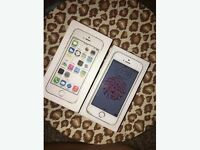 iPhone 5s silver. 64 GB