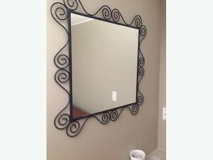 IKEA Mirror and framed pictures/Art work -HOME DECOR