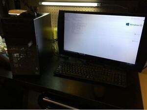 "$450 O.B.O - DELL OPTIPLEX TOWER WITH 24"" SONY PS 3D/TV MONITOR"