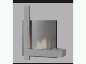 Brand New kokka wall mounted bio ethanol fire boxed