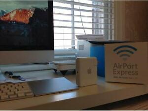 airport express with air tunes for mac and pc