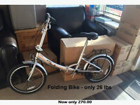 Folding bikes - Great for the RVer