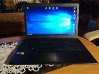 Gaming Asus X75V Laptop Core i5-3230 , 8GB ram ,1TB HDD+ GeForce GT 720M