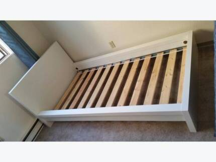 IKEA MALM SINGLE BED | BED, MATTRESS AND SLIDING STORAGE INCLUDED