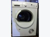 Siemens E46.38 7kg White Sensor Drying LCD Condenser Tumble Dryer 1 YEAR GUARANTEE FREE DELIVERY