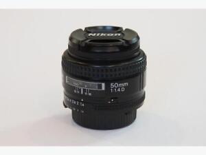 Nikon 50mm f1.4 D