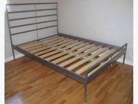 IKEA Hemdal Double Bed Frame