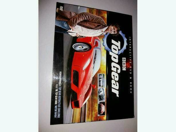 Brand New Sealed Top Gear interactive DVD&book