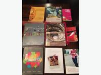 8 College Textbooks and 4 Books