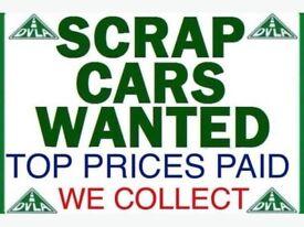 Cheap cars scrap cars all wanted