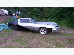 wanted 1974-81 camaro for parts