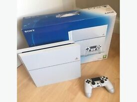 Ps4 console boxed white