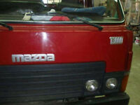 Mazda T3000 3.0 diesel engine and gearbox.