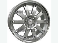 Calibre Boulevard 18″ Silver Alloy Wheels fit VW T5 T5.1 and T6 Vans