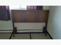 Headboard and Frame Queen size