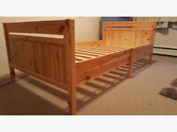 ikea trofast extendable bed frame with slats