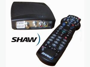 Shaw Cable Box DCT700 with Atlas Remote Control