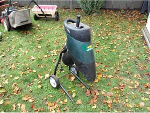 TRADE BRANCH CHIPPER OR MINI ROTOTILLER  FOR BEST LAWNMOWER