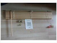 Wilko Venetian Blind Vinyl Wood Effect 90cm wide x 160cm drop £5.00