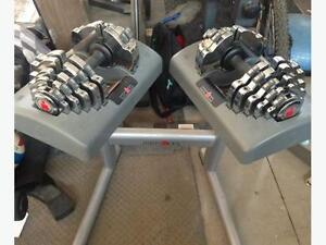 IronMan Adjustable Dumbbells 2.5LBS - 55LBS + Stand