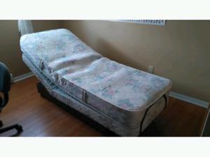 TWO UltraMatic Adjustable Single Beds