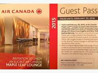 Maple Leaf Lounge Pass