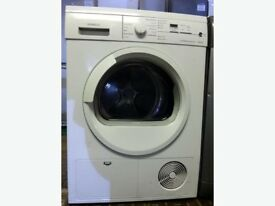 22 Siemens E46.38 7kg White LCD Sensor Drying Condenser Tumble Dryer 1 YEAR GUARANTEE FREE DELIVERY