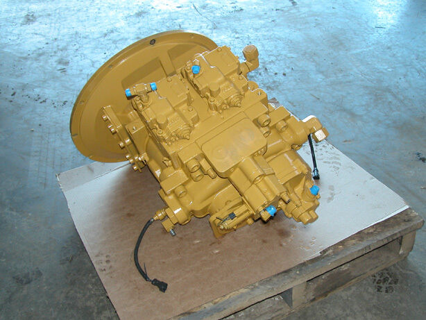 Cat 345c Excavator Main Hydraulic Pump Kawasaki K5v200