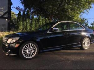 Mercedes C230 with only 93 K. Reer-Wheel-Drive , No accidents.