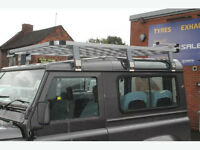 Land Rover Defender 90 Overland Aluminium Roof Rack