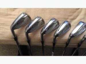 $395 · LEFT LH RSi 2 irons (4-AW) Taylormade stiff