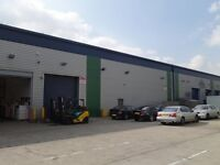 Warehouse unit Southall Middx 2900sq ft Rent £2500pm Suitable most uses
