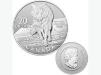 Silver '$20 for $20' Canadian Coins