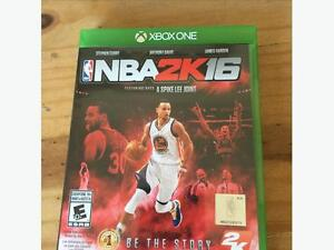 NBA 2k16 -Xbox one