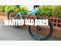 Retro, vintage, classic and old bikes wanted