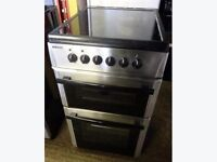 BEKO STAINLESS STEEL 50cm ELECTRIC COOKER, EXCELLENT CONDITION 4 MONTHS WARRANTY