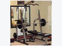 Nautilus NT-907 Weight Bench & Weights