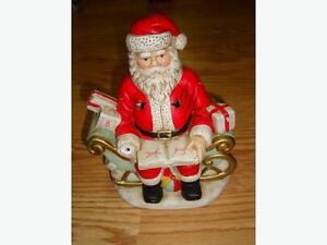 Collectable Santa Candle Holder - $1