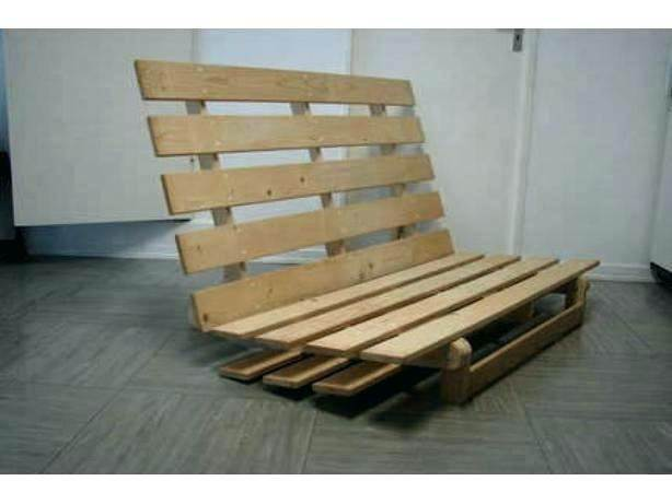 Ikea Double Sofa Bed Wooden Base For Free