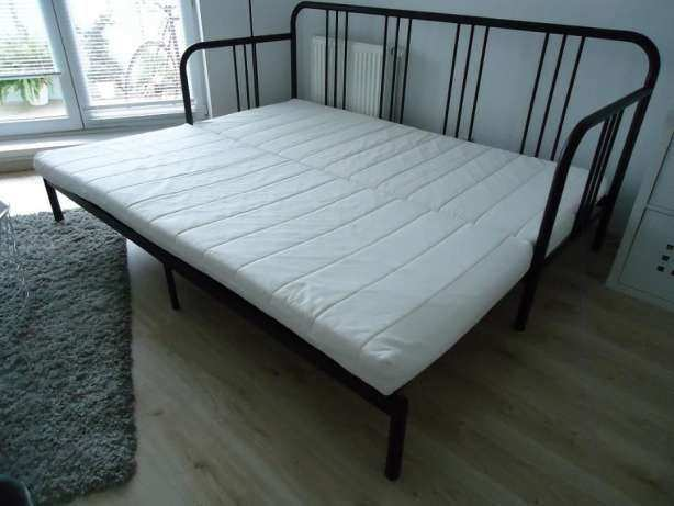 Ikea Fyresdal Day Bed Black Metal Guest Bed Sofa Couch In St