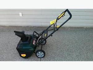 New HD Electric Snow Thrower Less Than 1/2 Price Now Only $160