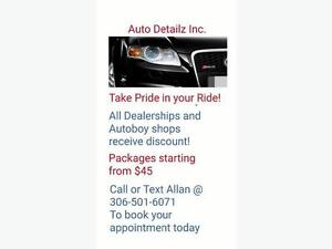 Best Auto Detail Prices in Town!