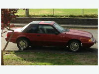 1992 Ford Mustang foxbody lx Coupe (2 door)