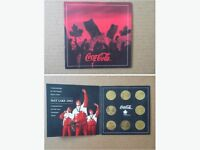 Coca-Cola /Olympic coin set