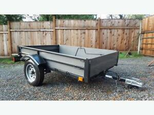 Lifetime FOLDING utility trailer much like new Douglasdale $800