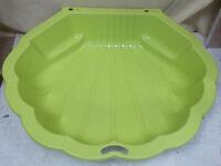 Green Half Shell Sandpit