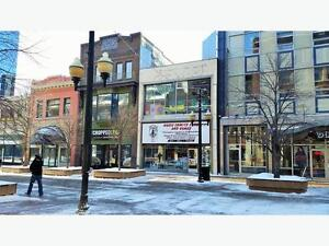 Garage for rent downtown Scarth Street Mall