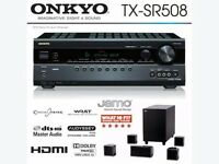 Onkyo Home Cinema Receiver and Jamo A102HCS5 5.1 SPEAKER